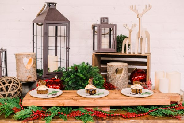 Mountain Vintage decor package with holiday add-on